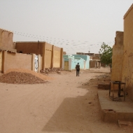 A quieter street in Omdurman. (Credit: Rod Usher)