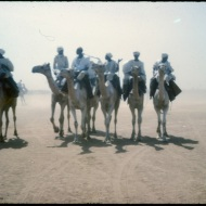 Leaving the Durbar - El Obeid 1964. (Credit: Rod Usher)